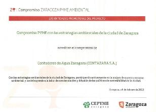 Compromiso Zaragoza PYME Ambiental